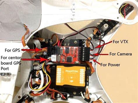 Naza Osd Wiring Diagram by Fpv N1 N2 N3 Mini Osd For Dji Flight Controller Phantom 2