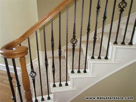 iron stair parts patterns high quality powder coated stair parts