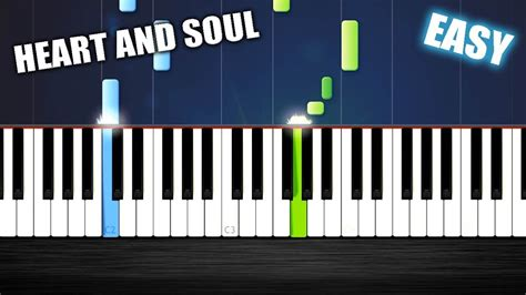 Find your perfect arrangement and access a variety of transpositions so you can print and play instantly, anywhere. Heart And Soul - EASY Piano Tutorial by PlutaX - Synthesia Chords - Chordify