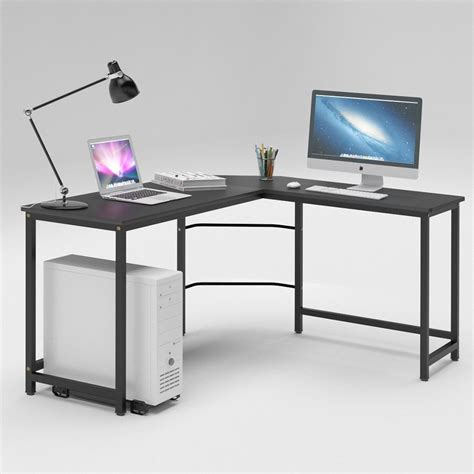 large cheap computer desk best l shaped desk 2017 reviews top gaming and computer