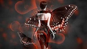 Fantasy Butterfly Dress Girl 2015 Heart Bubble Neon Style