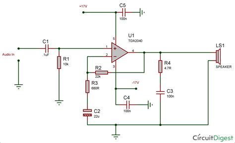 Circuit Diagram And Explanation by 5 Watt Lifier Circuit Diagram Wiring Library