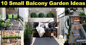 10 Small Balcony Garden Ideas: How To Dress Up Your Balcony