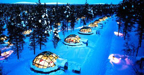 Northern Lights Igloo igloo northern lights europe shelly lighting