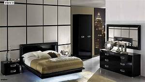 Decorate your bedroom with the stylish black lacquer for Black lacquer bedroom furniture