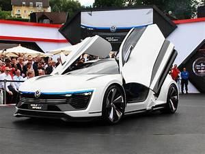 Golf Sport Voiture : volkswagen golf gte sport concept la compacte hybride du futur les voitures ~ Gottalentnigeria.com Avis de Voitures