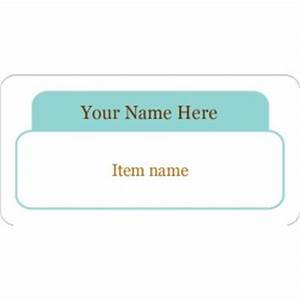 Templates aqua organizing labels 10 per sheet avery for Avery 18663 template