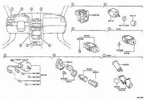 2001 Toyota Corolla Switch Sub