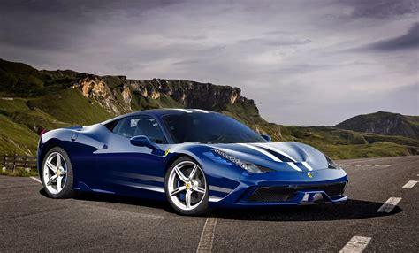Ferrari Italia Blue Car Hd Wallpaper  Sport Cars Hd