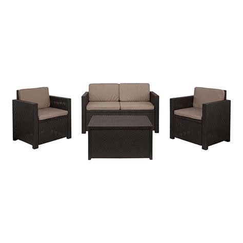 canapé de jardin castorama salon de jardin 4 places castorama royal sofa idée de