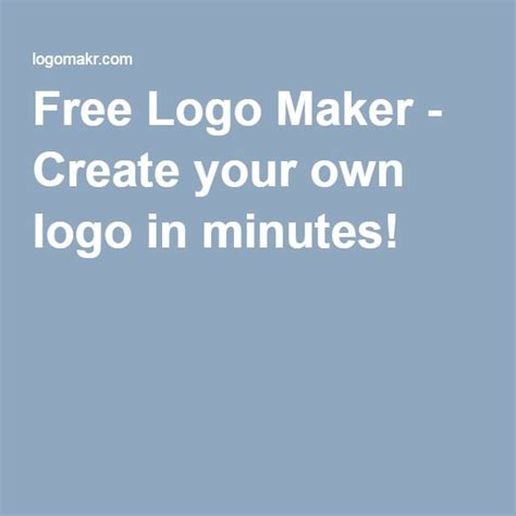 free logo maker create your own logo in minutes chirurgia estetica pinterest logos
