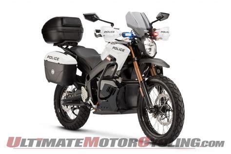 Zero Unveils 2013 Police & Security Motorcycles
