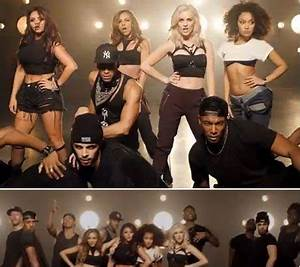 Little Mix flaunt their toned midriffs in music video Move ...