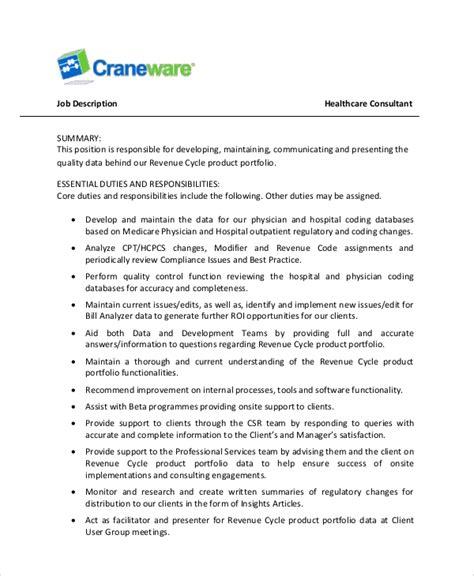 Sle Resume Healthcare by Sle Healthcare Resume 7 Exles In Word Pdf