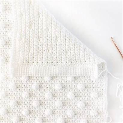 Crochet Blanket Bobble Daisy Stitch Farm Crafts