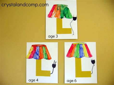 alphabet activities for preschoolers l is for lamp 976 | L is for Lamp 8
