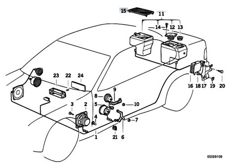 original parts for e36 320i m50 sedan audio navigation electronic systems single components