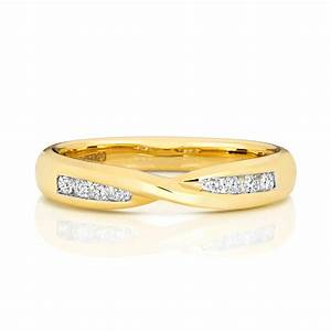 womens 18ct gold 3mm round diamond wedding ring 0158 With womens 18ct gold wedding rings