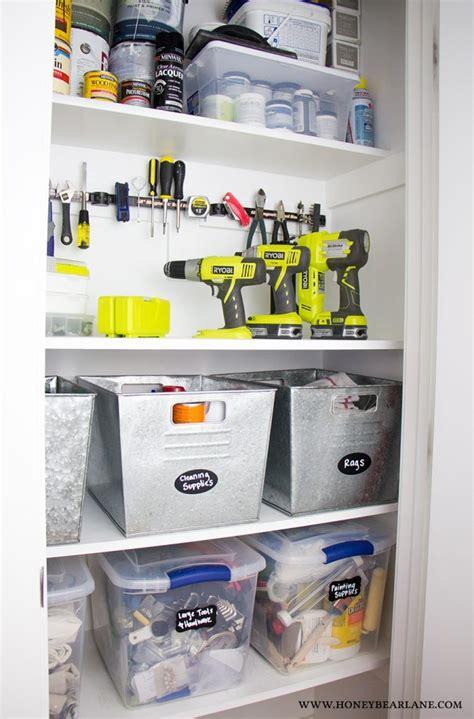 Tool Closet Organization Ideas by 25 Way To Organize Your Whole House Honeybear