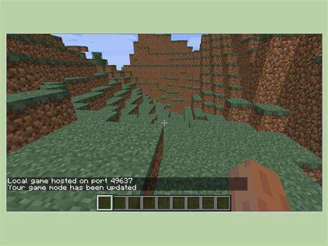 temporarily add cheats  minecraft  steps