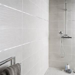 Pierre Blanche Leroy Merlin : fa ence mur blanc mineral live x cm leroy merlin ~ Melissatoandfro.com Idées de Décoration