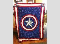 Captain America Quilt