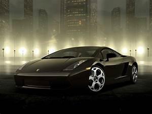 Dark Lamborghini - Wall Mural & Photo Wallpaper - Photowall