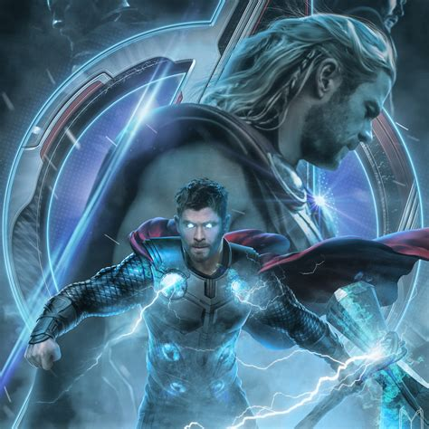 avengers endgame thor poster artwork ipad pro