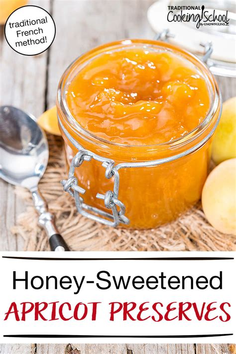 heavenly traditional french style apricot preserves