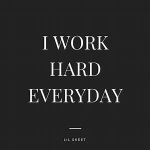 I Work Hard Everyday, a song by Lil Skeet on Spotify