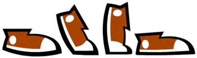 Image result for Walking Feet Clip Art