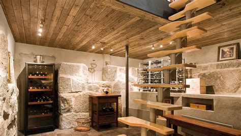 villa siberg  contemporary house  rustic wine