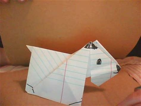 origami scottie dog  submitted  readers