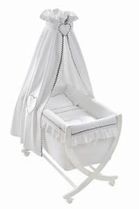 Berceau Bebe Blanc : berceau b b emma blanc de nougatine baby room pinterest babies ~ Teatrodelosmanantiales.com Idées de Décoration