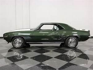 1969 Chevrolet Camaro Z  28 4213 Miles Fathom Green Coupe