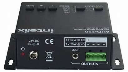 Aud Input Audio Output Amplifier Ohm Hi