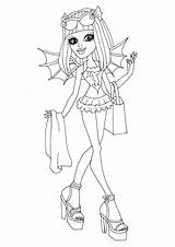 Coloring Monster Rochelle Printable Goyle Swim Swimsuit Colouring Sheets Class Characters Getcolorings Dolls Blank Monsters Cartoon Disney sketch template