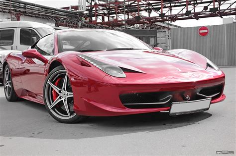 chrome ferrari 458 ferrari 458 red chrome from russia