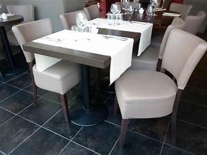 Chaise Terrasse Restaurant : mobilier de restaurant le 42 chaise de restaurant beige confortable et table de restaurant ~ Teatrodelosmanantiales.com Idées de Décoration