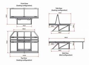 Details About Full Width Rock And Roll Bed Vw T4 1990