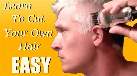 Learn how to give yourself a haircut in 5 minutes!!   YouTube