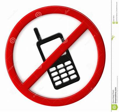 Allowed Cell Phones Clipart Permitted Sign Phone