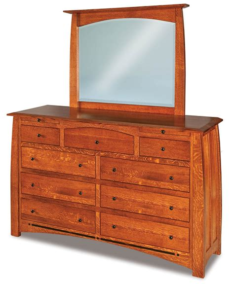 dresser with jewelry drawer boulder creek 9 drawer dresser with jewelry drawers