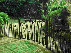 Idee Cloture Pas Chere : cl ture de jardin pas ch re originale et design ~ Premium-room.com Idées de Décoration