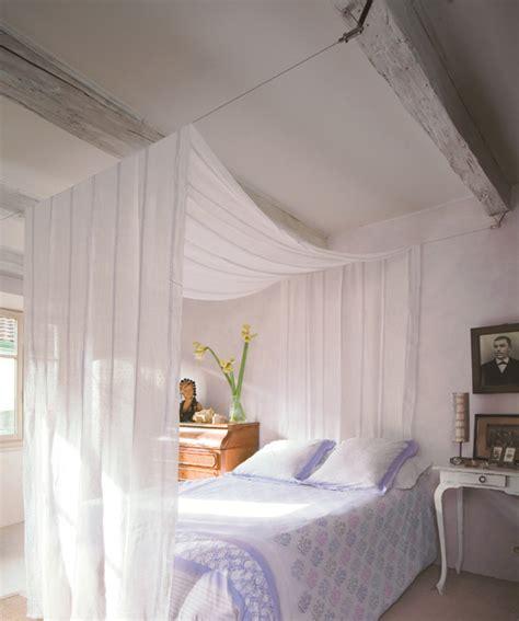 voilages chambre un ciel de lit en voilage deco maison ciel