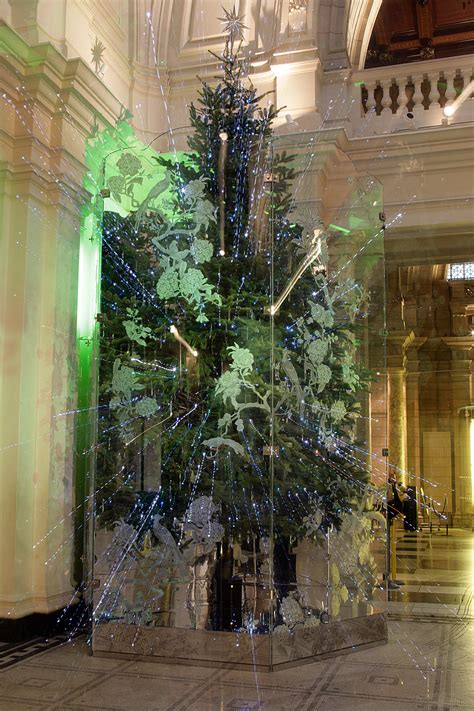 christmas tree installation  jasper conran victoria