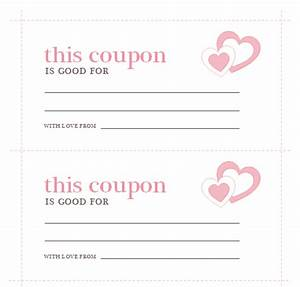 S Day Coupons Template