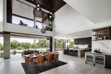 dining  signature  metricon riviera  display  sorrento qld modern house design