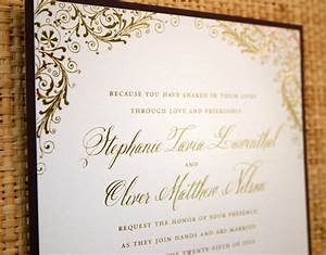 beautiful gold wedding invitations gold foil wedding With wedding invitations melbourne gold foil
