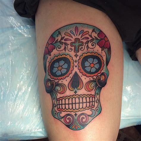 candy skull tattoos designs ideas  meaning tattoos